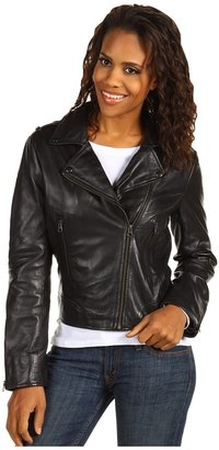 Scully Ladies Premium Lambskin Chic Motorcycle Jacket (Black) - Apparel