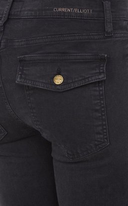 Current/Elliott Cargo Skinny Jeans - WASHED BLACK