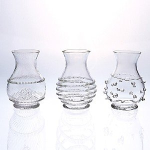 Juliska Mini Vases, Set of 3