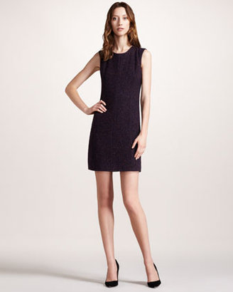 Theory Stretch-Tweed Dress