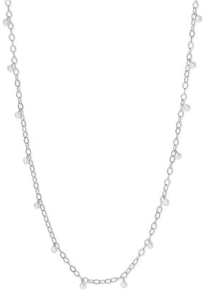 Dogeared Long Strand Pearl Necklace