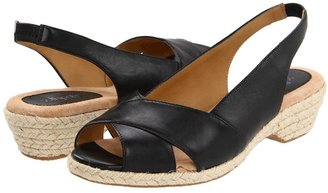 Softspots Aloha (Black Velvet Sheep Nappa) - Footwear