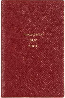 Smythson 'Naughty But Nice' Wafer Notebook