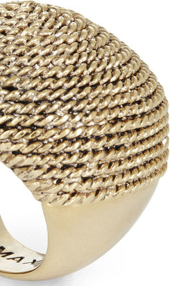 BCBGMAXAZRIA Metal Rope Ring