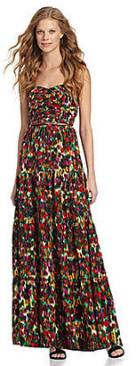 Patterson J. Kincaid Abella Belted Maxi Dress