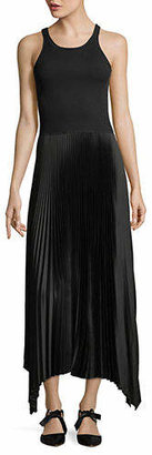 Theory Vinessi Belsay Ribbed Maxi Dress