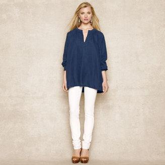Ralph Lauren Blue Label Oversized Linen Tunic