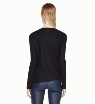 Helmut Lang Sonar Wool Top