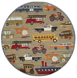 Momeni Lil Mo Whimsy Wheels, 2 x 3