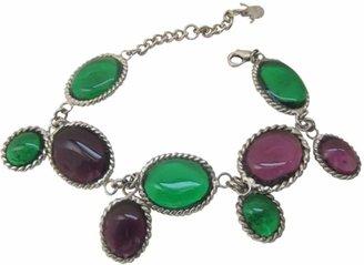 N. Marguerite De Valois \N Silver Glass Bracelets