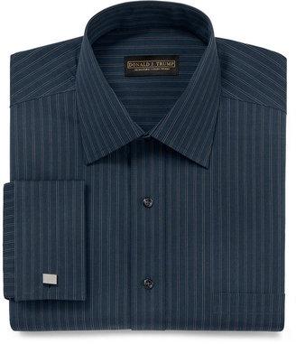 Donald Trump Donald J. Dress Shirt, Broad Stripe Long Sleeve Shirt