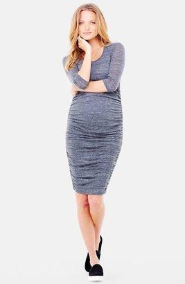Ingrid & Isabel ® Ingrid & Isabel Shirred Maternity Dress $88 thestylecure.com