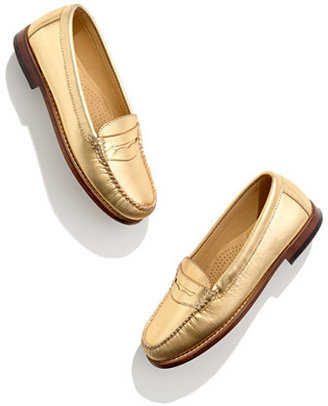 G.H. Bass & company gold weejuns