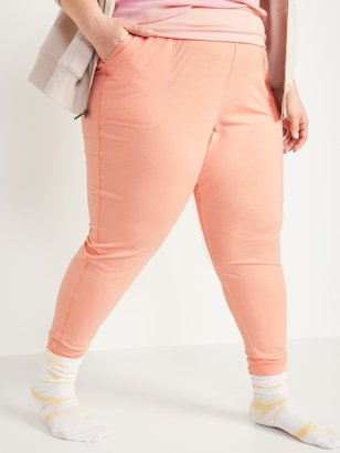Old Navy Mid-Rise Plus-Size Live-In Jogger Sweatpants