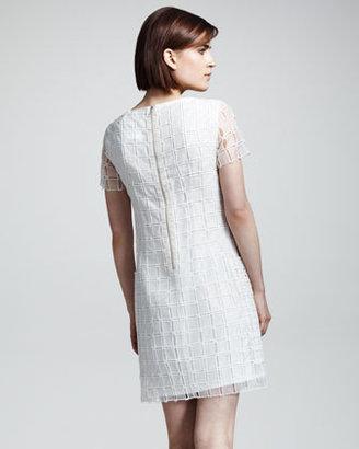 Rag and Bone Rag & Bone Cherie Check-Texture Dress