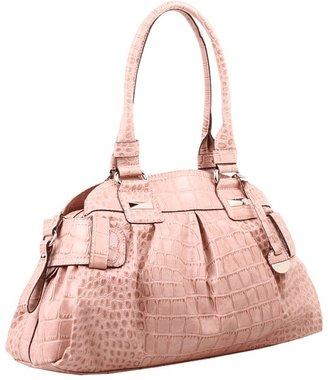 Jessica Simpson Daisy Large Satchel (Lotus) - Bags and Luggage
