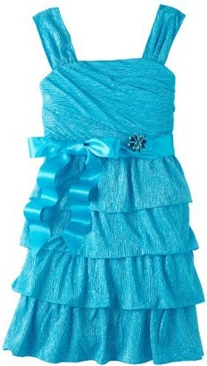 My Michelle Girls 7-16 Multi Tier Dress