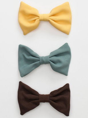 American Apparel Bow Hair Clip (3-Pack)