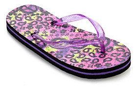 Mambo Peace Batik Flip Flops