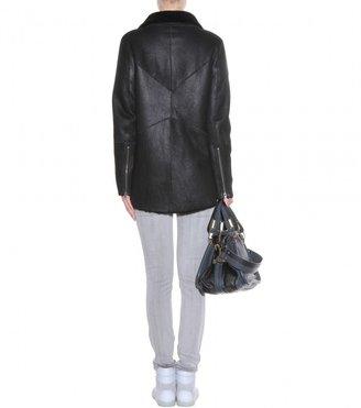 Helmut Lang Shearling jacket