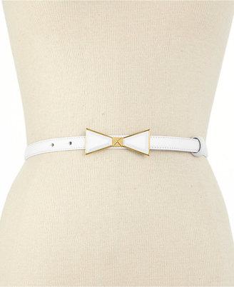 Vince Camuto Skinny Bow Belt
