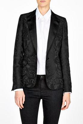 Paul Smith Black Black On Black Jaquard Jacket