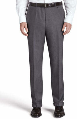Isaia Flat-Front Trousers