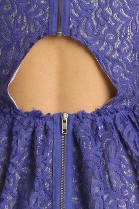 Cut25 Cut 25 Lace Dress in Iris