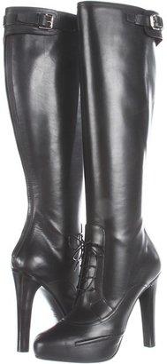 Ralph Lauren Silla (Black Sport Calf) - Footwear