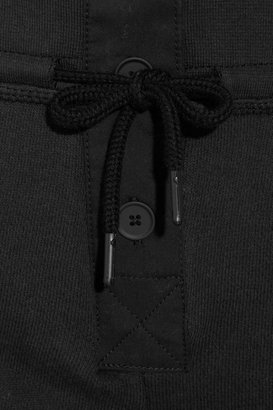 Alexander Wang Cotton French terry track pants