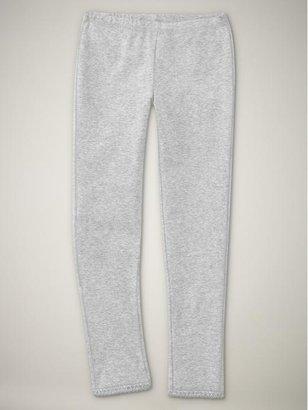 Gap Long lace-trimmed leggings