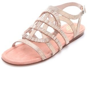 House Of Harlow Aggie Beaded Sandals