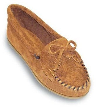 Minnetonka Suede Leather Moccasins - Kilty
