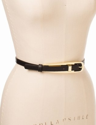 The Limited Metal Buckle Skinny Belt