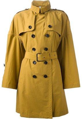 Burberry cape trench coat