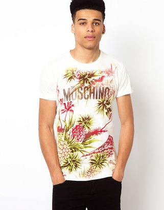 Love Moschino T-Shirt with Pineapple Print