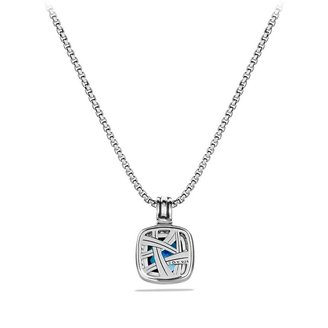 David Yurman Albion Pendant with Amethyst and Diamonds