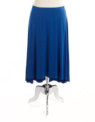 Kate Hill Plus-Size Hi-Lo Skirt