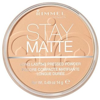 Rimmel Stay Matte Pressed Powder, Nude Beige, 0.49 Ounce $5.49 thestylecure.com