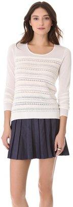 Rachel Roy Novelty Crew Sweater