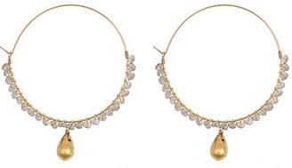 Wendy Mink Labradorite and Teardrop Earrings