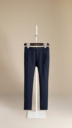 Burberry Tonic Wool Mohair Trousers