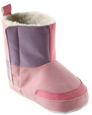 Pacimals Luvable FriendsTM Infant Girls' Suede Boot - Pink
