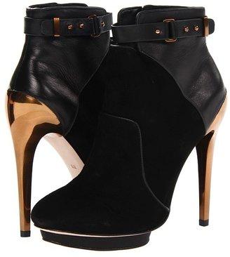 BCBGMAXAZRIA Belden (Black Kid Suede) - Footwear