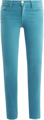 Frame Denim Le Skinny de Jeanne cropped mid-rise jeans