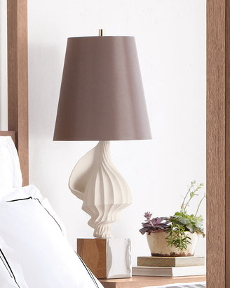 Jonathan Adler White Shell Lamp