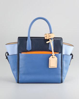 Reed Krakoff Atlantique Mini Tote Bag, Blue