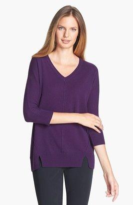Nordstrom V-Neck Cashmere Sweater