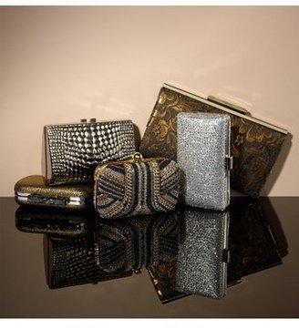 Tasha Textured Sparkle Clutch