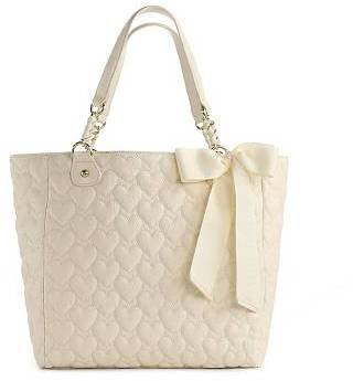 Betsey Johnson Yours Mine & Ours Tote